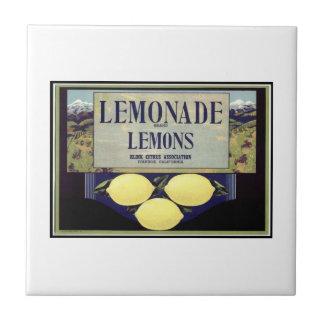 Lemonade Lemons Tile