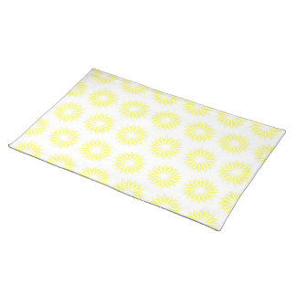 Lemonade Modern Sunbursts Placemat