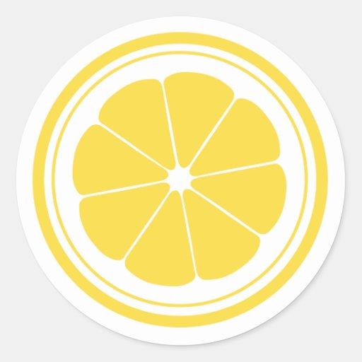 Lemonade stand lemon stickers zazzle for Lemon shaped lemonade stand