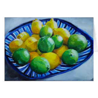 Lemons and Limes Note Card