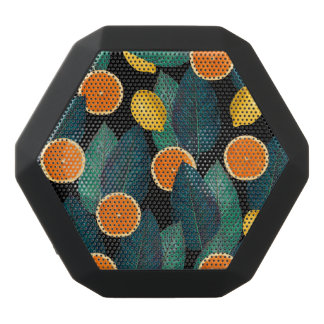 lemons and oranges black black bluetooth speaker