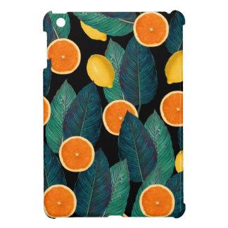 lemons and oranges black case for the iPad mini