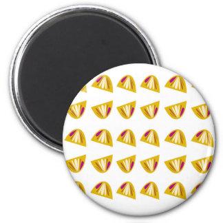 Lemons design gold magnet