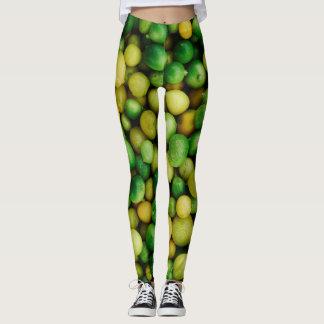 Lemons & limes leggings