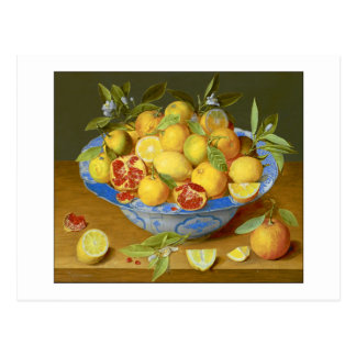 Lemons, Oranges and a Pomegranate Postcard