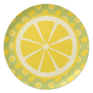 Lemons Party Plates