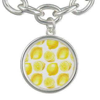 Lemons pattern design bracelet