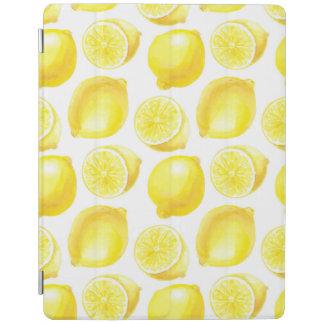 Lemons pattern design iPad cover