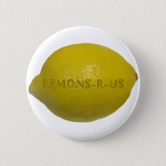 Lemons R Us 2 Inch Round Button