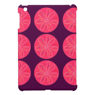 Lemons with wine slices cover for the iPad mini