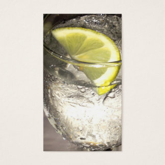Lemonwater - foodservice business card - Olive