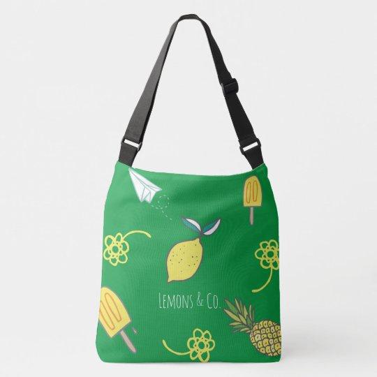 Lemony Kind Of Day Crossbody Bag