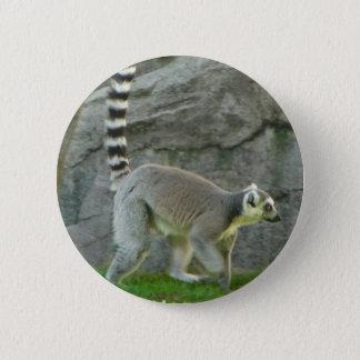 Lemur 2 Inch Round Button