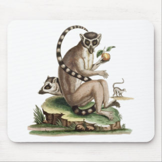 Lemur Artwork Mouse Pad