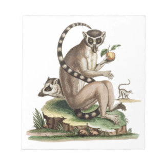 Lemur Artwork Notepad
