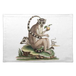 Lemur Artwork Placemat