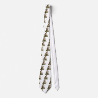 Lemur Artwork Tie