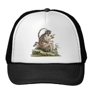 Lemur Artwork Trucker Hat