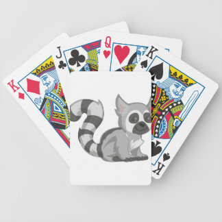 Lemur Bicycle Playing Cards