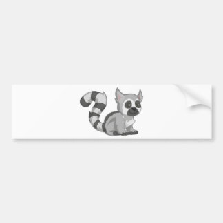 Lemur Bumper Sticker