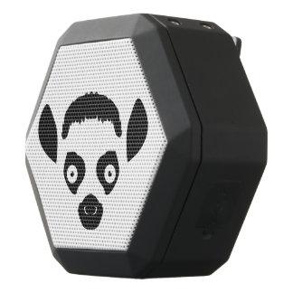 Lemur Face Silhouette Black Bluetooth Speaker