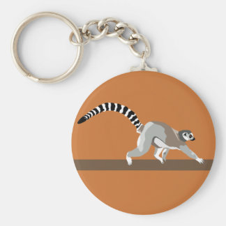 Lemur Key Chain