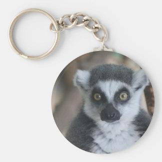 Lemur Keychain