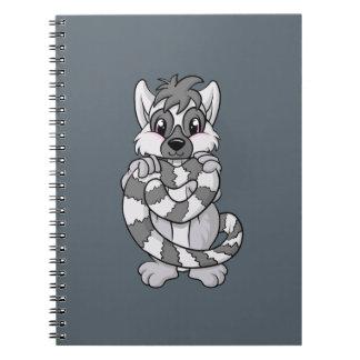 Lemur Love! Spiral Note Books