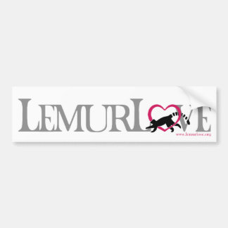 Lemur Love sticker