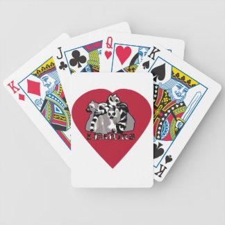 Lemur Mug Poker Deck