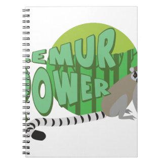 Lemur Power Note Book