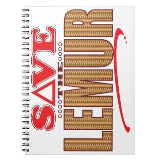 Lemur Save Note Book
