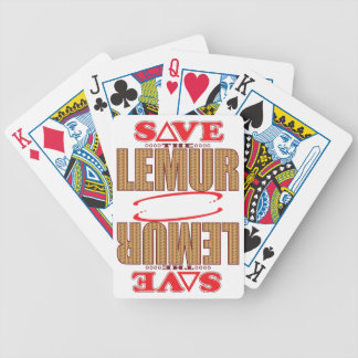Lemur Save Poker Deck
