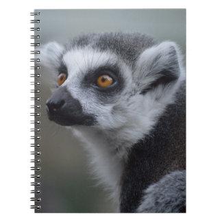 Lemur Spiral Note Books