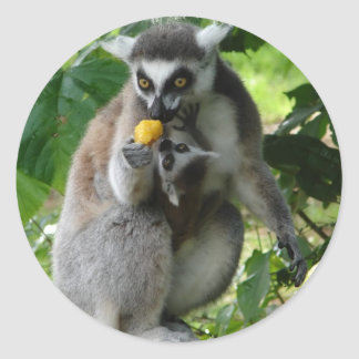 Lemur Sticker