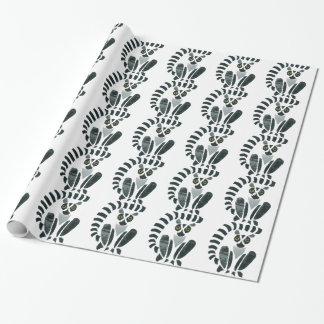 Lemur Wrapping Paper