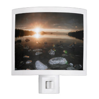 Lena Beach Sunset Nightlight Nite Light