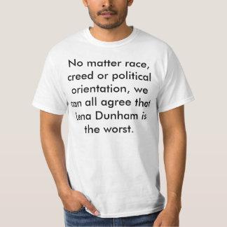 Lena Dunham is the worst T-Shirt