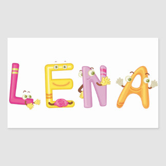 Lena Sticker