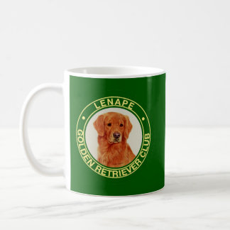 Lenape Golden Retriever Club Coffee Mug