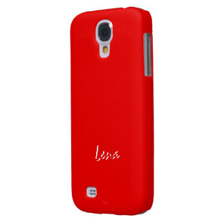 Lena's Full Red Samsung Galaxy S4 case