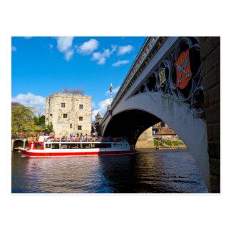 Lendal tower and bridge York Postcard