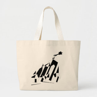 Lending a Hand Large Tote Bag