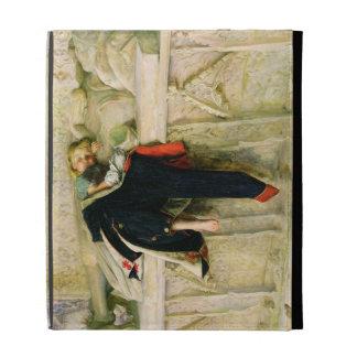 L'Enfant du Regiment (le tir aléatoire) 1855 (huil Coque Folio iPad