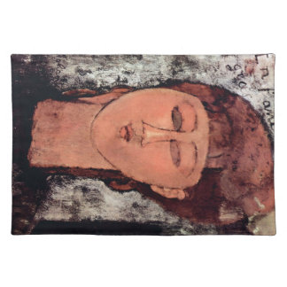 L'Enfant Gras by Amedeo Modigliani Placemat