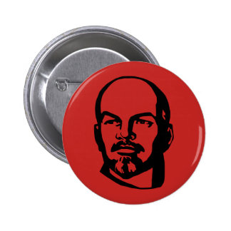 Lenin 2 Inch Round Button