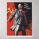 Lenin Forever Print