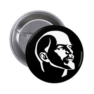 Lenin Head 2 Inch Round Button