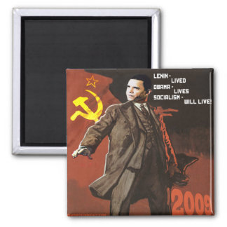 Lenin Lived Obama Lives Magnet