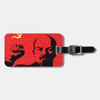 Lenin Luggage Tag
